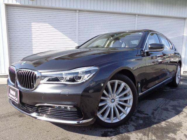 BMW 740i plus-Pグレー革禁煙デモカー認定中古車