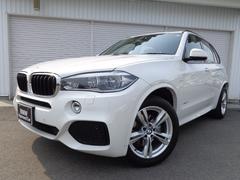 BMW X5xDrive35d MスポーツセレクトP黒革1オナ認定中古車