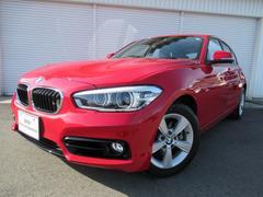 BMW118d スポーツ純正HDナビBカメPDCデモカー認定中古車