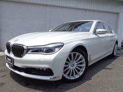 BMW740i プラスPレーザーライト黒革デモカー認定中古車