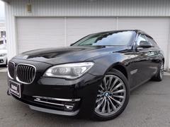 BMW750i コンフォートP黒革LEDACC禁煙1オナ認定中古車