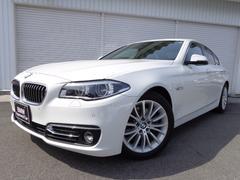 BMW523d ラグジュアリーACC黒革LED禁煙1オナ認定中古車