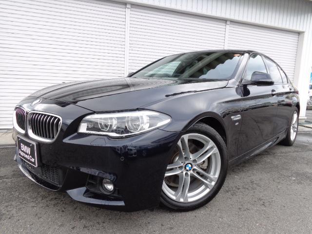 BMW 528i MスポーツLED黒革Rスポ液晶ACC禁煙認定中古車