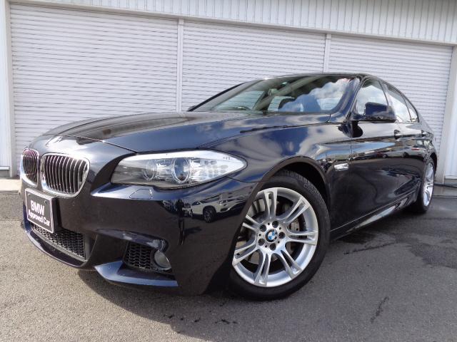 BMW 5シリーズ 535i Mスポーツ18AW黒革ウッドP1オナ...