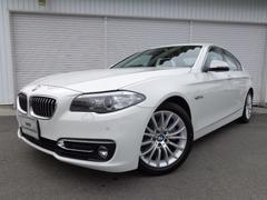 BMW523iラグジュアリー黒革ACC禁煙1オナ認定中古車