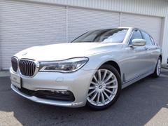 BMW740iプラスP黒革レーザーライト19AWデモカー認定中古車