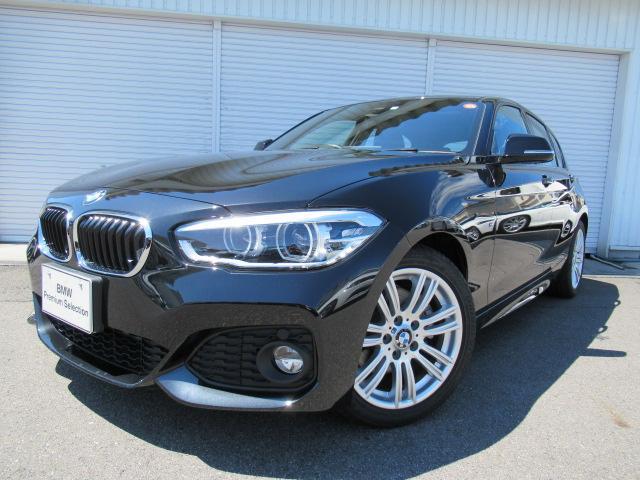 BMW 118d MスポーツLEDヘッド17AWデモカー認定中古車