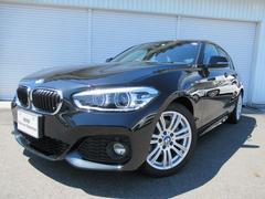 BMW118d MスポーツLEDヘッド17AWデモカー認定中古車