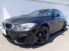 BMWM3 M−DCT黒革Pサポート19AWデモカー禁煙認定中古車