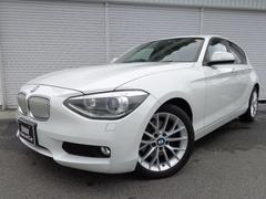BMW116iファッショニスタ限定車ベージュ革1オナ禁煙認定中古車