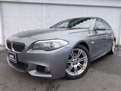 BMW523i Mスポーツ18AWウッドRスポ直4ターボ認定中古車