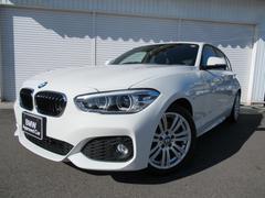 BMW118i MスポーツLCIパーキングサポート1オナ認定中古車