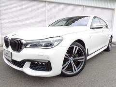 BMW740i Mスポーツ20AW黒革ガラスSR1オナ認定中古車