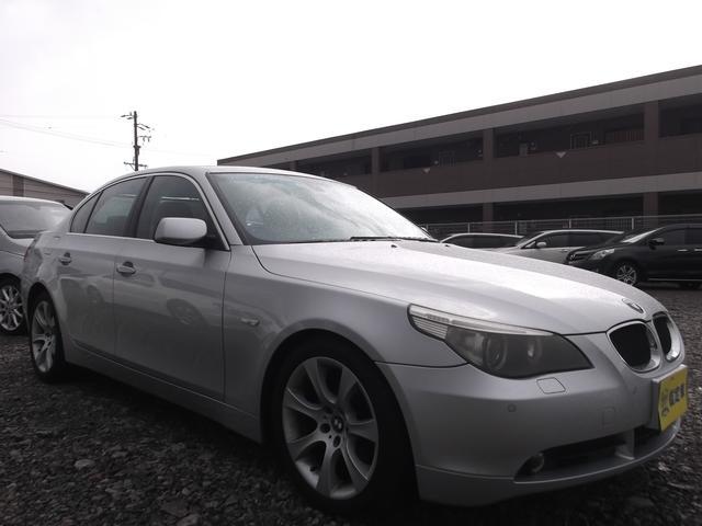 BMW 5シリーズ 530iハイラインパッケージ ナビ 黒革シート...