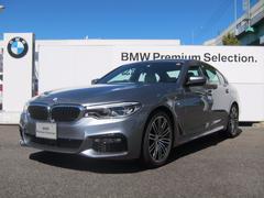BMW530i Mスポーツ ホワイトレザーシート
