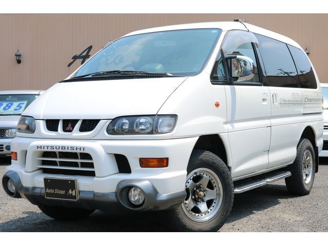 三菱 デリカスペースギア シャモニー4WD 社外アルミ (車検整備付)
