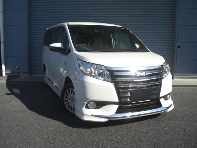 トヨタ ハイブリッドG メーカー保証付 モデリスタエアロ ナビ