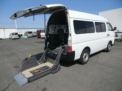 キャラバンバス福祉車両 チェアキャブ 車椅子固定2基
