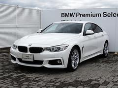 BMW420iグランクーペ Mスポーツ 純正ナビ ACC 衝突軽減