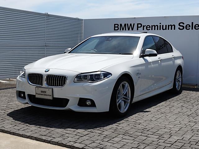 BMW 5シリーズ 528i Mスポーツ 黒革 LED フル液晶メ...