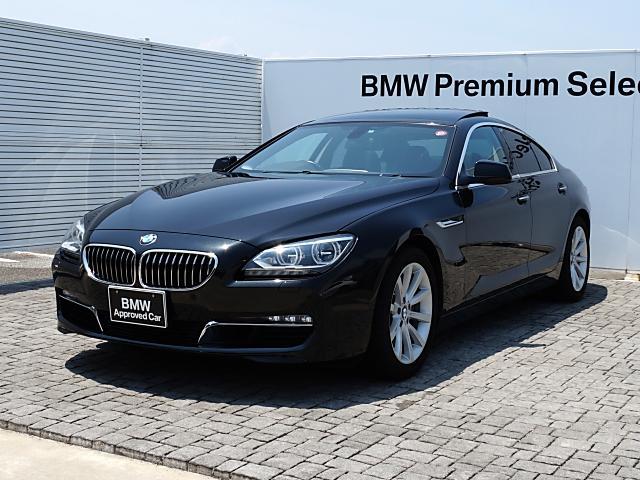 BMW 6シリーズ 640iグランクーペ 黒革 SR LED 純正...