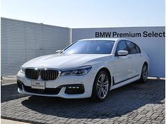 BMW740i Mスポーツ デモカー 黒革 SR リモートP