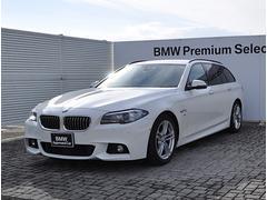 BMW523dツーリング Mスポーツ 黒革 ACC 衝突軽減B