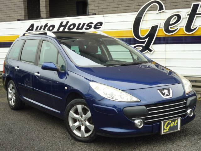 peugeot 307 sw 2 0 2006 dark blue m 75 000 km details japanese used cars goo net exchange. Black Bedroom Furniture Sets. Home Design Ideas