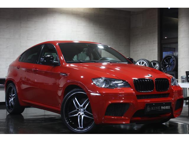 BMW X6 M ガラスサンルーフ HAMANN22インチAW ホ...