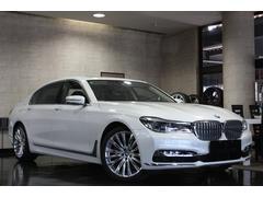 BMW750Liデザインピュアエクセレンス リアエンターテイメント