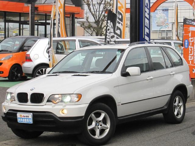 BMW X5 3.0i 革 キセノン 禁煙車 (車検整備付)