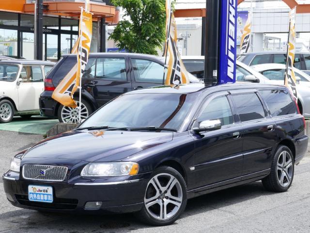 ボルボ V70 2.4 革 SR キセノン (車検整備付)