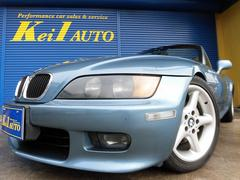 BMW Z3ロードスター007カラー 黒本革シート 純正ロールバー フルオリジナル車