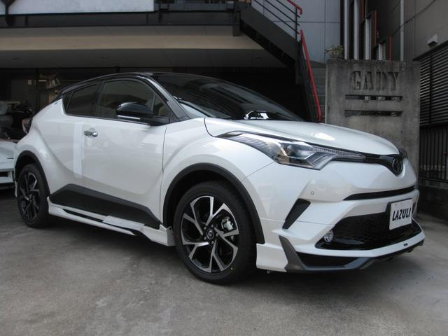 toyota c hr g t led edition 2018 pearl ii 20 km details japanese used cars goo net. Black Bedroom Furniture Sets. Home Design Ideas