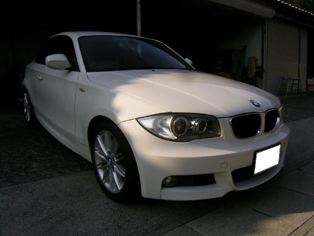 BMW 1シリーズ 120i Mスポーツパッケージ ハーフレザー ...