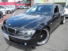BMW740ID車左Hサンルーフ外21AW黒革バックモニター保証付