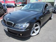 BMW740iD車左HSR黒革エアーシートIドライブ21AW保証付