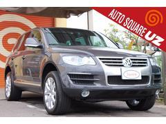 VW トゥアレグV8 禁煙車 純正HDDナビTV スマートキー