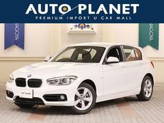 BMW118d スポーツ 登録済未使用車 ナビ ETC