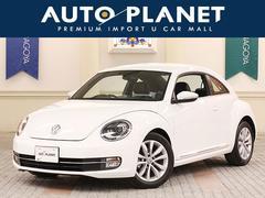 VW ザ・ビートルデザインレザーP 1オーナー 革シート HDDナビTV