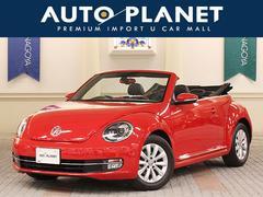 VW ザ・ビートル・カブリオレベースグレード 1オーナー SDナビTV 革シート