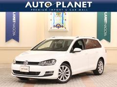 VW ゴルフヴァリアントTSIハイラインBMT ナビTV DSRC キセノン
