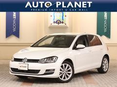 VW ゴルフTSIハイラインBMT ワンオーナー 革シート ナビTV