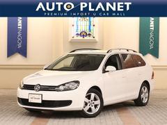 VW ゴルフヴァリアントTSIトレンドLプレミアムED ナビTV ETC アルミ