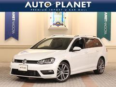 VW ゴルフヴァリアントRラインBMT DCCパッケージ ワンオーナー ナビTV