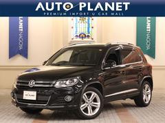 VW ティグアンTSI BMT Rライン ナビTV Bカメラ 後席モニター