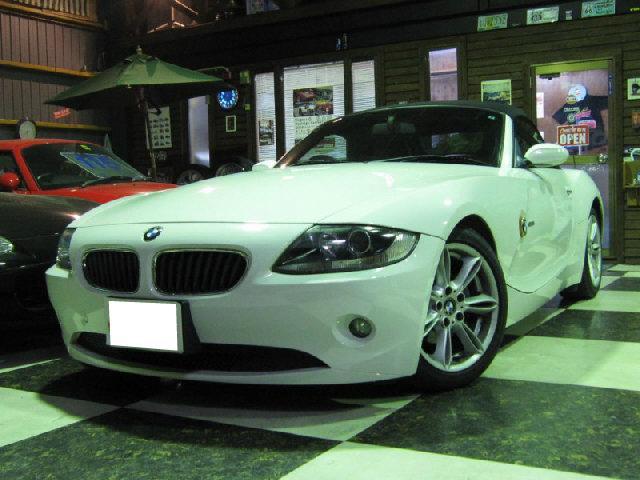 BMW Z4 2.2i 社外HDDナビ フルセグTV 電動オープン...
