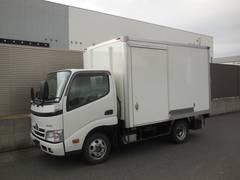 ダイナトラック冷蔵冷凍車 ナビTV バックモニター