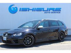 VW ゴルフRヴァリアント黒革 BBS18AW H&Rダウンサス