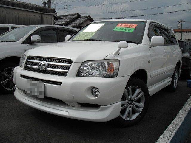TOYOTA KLUGER HYBRID G PACKAGE | 2005 | PEARL | 95,000 km